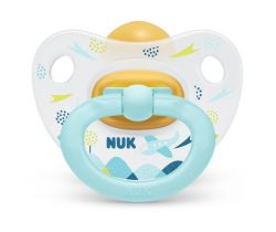 Kaučukové cumlík Nuk Classic Happy Day Aeroplane