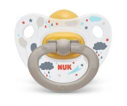 Kaučukové cumlík Nuk Classic Happy Day Clouds