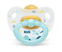 Kaučukové cumlík Nuk Happy Kids Plane Blue