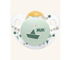 Kaučukový cumlík Nuk Trendline Adore Green