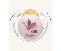 Kaučukový cumlík Nuk Trendline Adore Pink