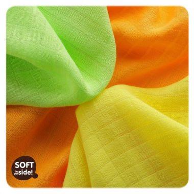 Bambusové obrúsky 9 ks 30x30 cm Kikko Colours Mix