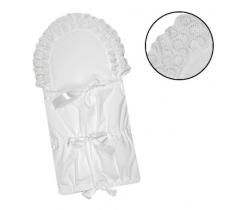 Klasická zavinovačka 3x5 Babyrenka White Lace