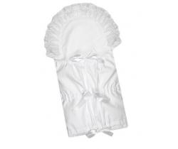 Klasická zavinovačka 3x7 Babyrenka White Lace Gradl