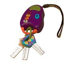 Kľúče k autu B-Toys FunKeys