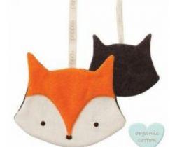 Klip na cumlík Babylonia Comfort Buddies Fox Orange/Anthrazite