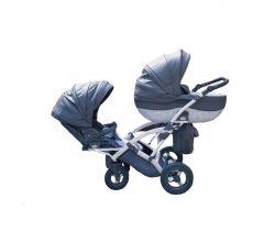 Kočík pre dvojčata Junama Duo Pendolino Fashion Pro