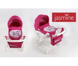 Kočík pre bábiky s potlačou Jasmine Kids