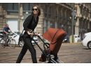 Kočík Set 3v1 Cybex Priam Plus 2020 Podvozok Rosegold + Seat Pack + Hlboká korbička Lux + Aton M I-Size + Taška