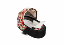 Kočík Set 3v1 Cybex Priam Spring Blossom 2020 Podvozok Rosegold + Seat Pack + Hlboká korbička Lux + Cybex Cloud Z i-Size + Taška