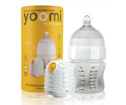 Dojčenská fľaša 140 ml, cumlík na fľašu Yoomi