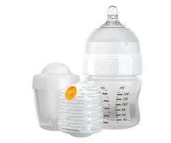 Dojčenská fľaša 140 ml, ohrievač, cumlík na fľašu, nádoba na ohrievač Yoomi