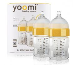 Dojčenská fľaša 2 ks 240 ml Yoomi