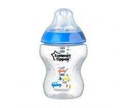 Kojenecká fľaška s obrázkom 260 ml 0m+ Tommee Tippee Toot