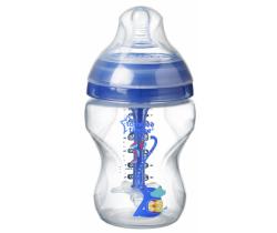 Dojčenská fľaša Tommee Tippee Advanced Anti-Colic Boy, 260ml, 0m +