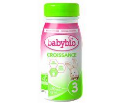 Dojčenské mlieko 25 cl Babybio Croissance