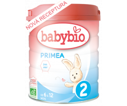 Dojčenské mlieko 800 g Babybio Primea 2