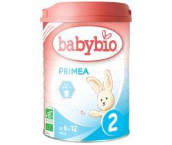 Dojčenské mlieko 900g Babybio Primea 2