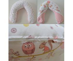 Kojací vankúš 170 cm LittleUp Pink Forest