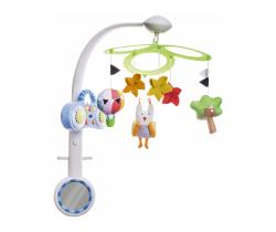 Kolotoč s MP3 prehrávačom Taf Toys Sova