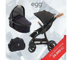 Kombinovaný kočík BabyStyle Egg + Prebaľovacia taška + Adaptéry