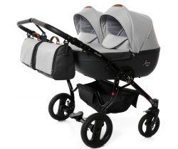 Kočík pre dvojčatá Junama Duo Fashion Pro