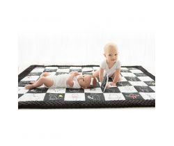Kontrastné hracia deka 120x140 cm BabySteps