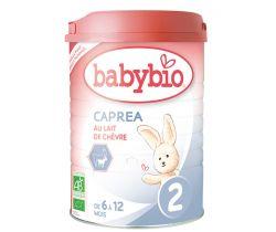 Kozie dojčenské mlieko Babybio Caprea 2
