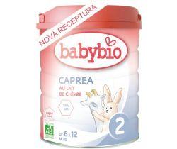 Kozie dojčenské mlieko Babybio caprea 2 800g New