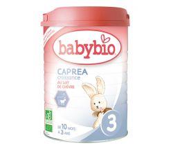 Kozie dojčenské mlieko Babybio Caprea 3