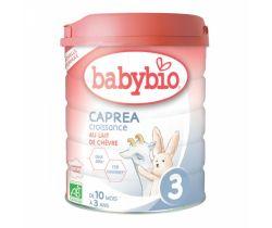 Kozie dojčenské mlieko Babybio Caprea 3 800g New