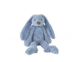 Králíček 38 cm sýto modrý Happy Horse Richie