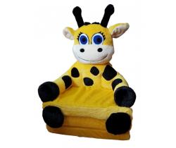 Kresielko 2v1 Smyk Duo Yellow Girafe
