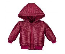 Bunda na zips s kapucou Eevi Simply Comfy Red