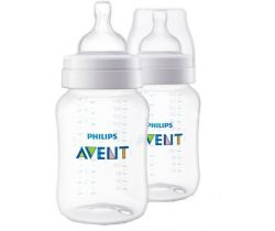 Fľaša 260 ml 2 ks Avent Anti-Colic