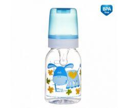 Fľaša s potlačou 120 ml Canpol Happy Animals potlačou Viz také potlačiť