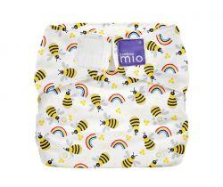 Látková plenka integrovaná v nohavičkách Bambino Mio MioSolo Honeybee Hive