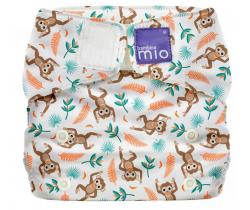 Látková plenka integrovaná v nohavičkách Bambino Mio MioSolo Spider Monkey