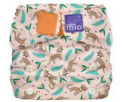 Látková plenka integrovaná v nohavičkách Bambino Mio MioSolo  Wild Cat