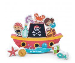 Balančné pirátska loď Le Toy Van