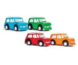 Farebné autíčko 1ks Le Toy Van