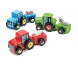 Farebný traktor 1ks Le Toy Van