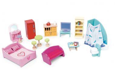 Kompletný set do domčeka Le Toy Van Deluxe