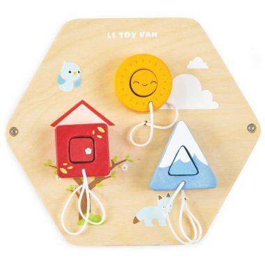 Panel Le Toy Van päťročné Tvary