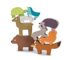 Skladacia veža Le Toy Van Petilou Zvieratká
