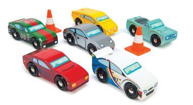 Set autíčok Le Toy Van Montecarlo Sports