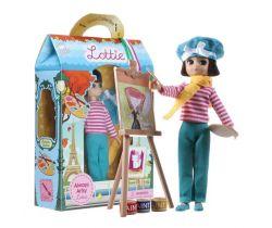 Bábika maliarka Lottie