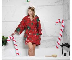 Vianočný župan / Kimono Magic Garden Lullalove