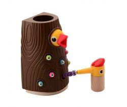 Magnetická hra 24m+ Jouéco Kŕmenie vtáčikov