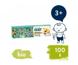 Maslové sušienky plnené lieskovoorieškovým krémom (100 g) Good Gout BIO